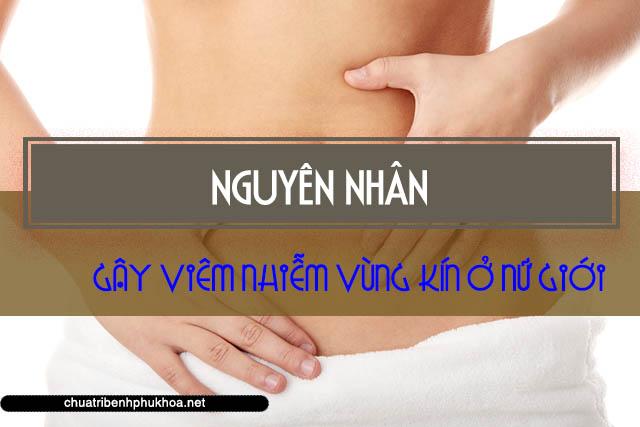 Nguyên nhân gây viêm nhiễm vùng kín ở nữ giới