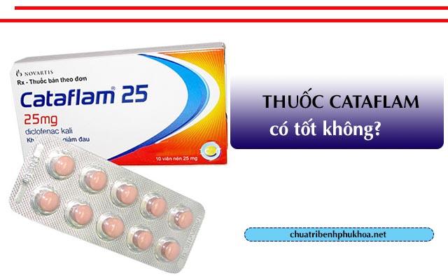 Thuốc giảm đau bụng kinh Cataflam