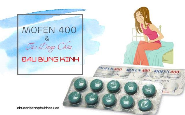 Mofen 400 có chữa đau bụng kinh không