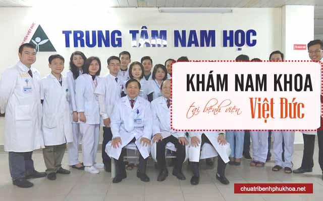 Chi phí khám nam khoa tại bệnh viện Việt Đức