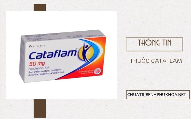 Thông tin về thuốc Cataflam