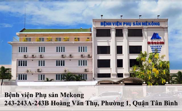 Khám phụ khoa tại bệnh viện Phụ sản Mekong