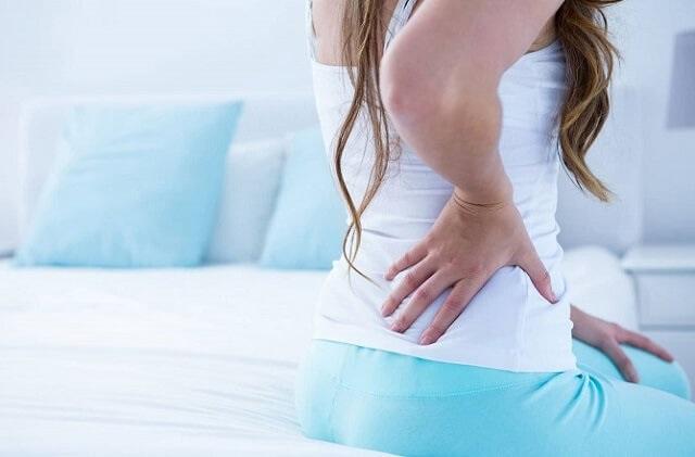 Triệu chứng u xơ tử cung thường gặp là đau lưng