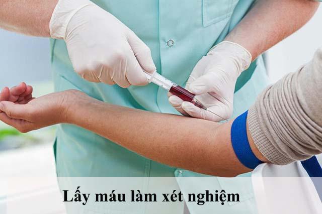 Xét nghiệm máu- Một bước khám phụ khoa