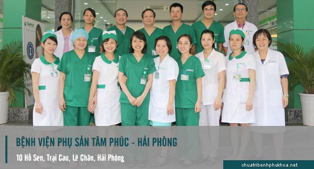 Khám phụ khoa ở bệnh viện phụ sản tâm phúc - Hải Phòng