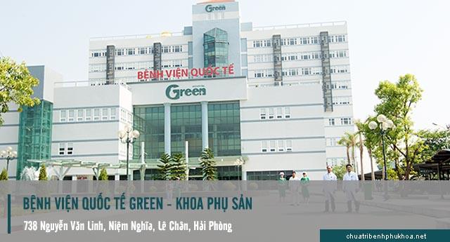 khám phụ khoa bệnh viện Green - Hải Phòng