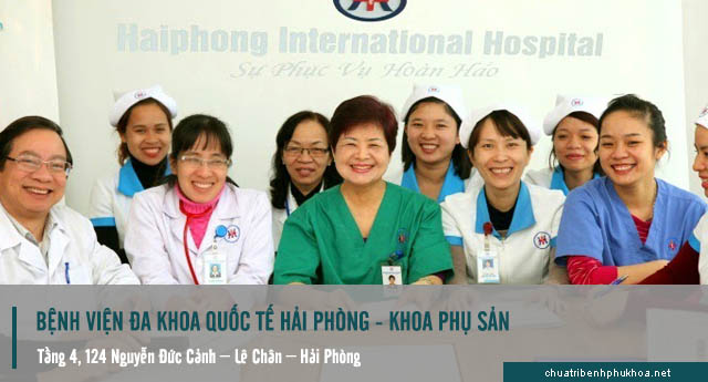khám phụ khoa tại bệnh viện quốc tế Hải phòng