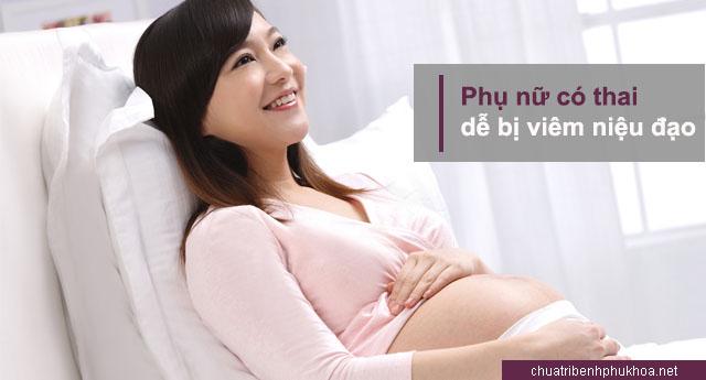 Mang thai cũng là nguyên nhân viêm niệu đạo ở nữ giới