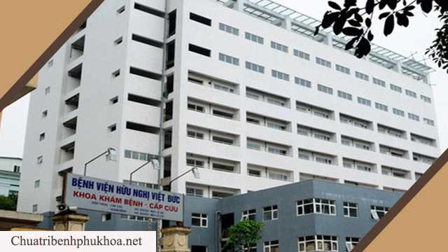 Bệnh viện Việt Đức khám viêm niệu đạo