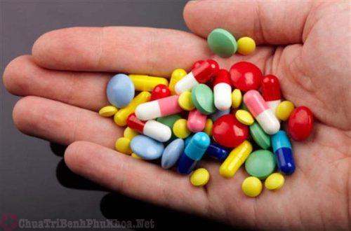 Sử dụng thuốc tây y cũng là nguyên nhân gây bệnh u xơ cổ tử cung