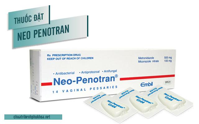 Thông tin và cách sử dụng thuốc đặt phụ khoa Neo Penotran