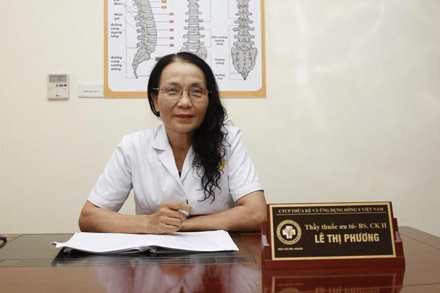 Thầy thuốc chữa bệnh phụ khoa Lê Thị Phương