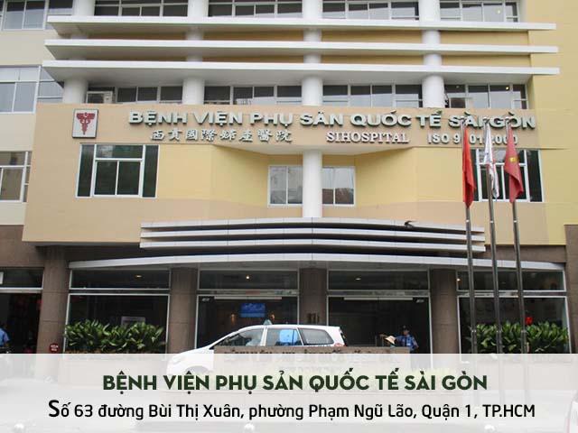Khám viêm âm đạo ở bệnh viện Phụ Sản Quốc Tế Sài Gòn