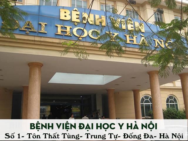 Khám viêm âm đạo ở bệnh viện Đại Học Y Hà Nội