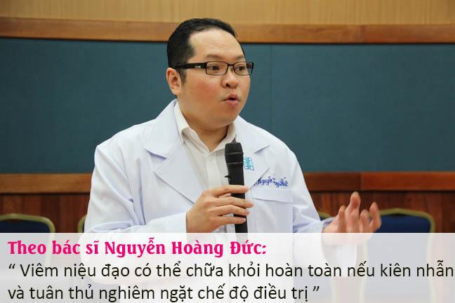 Bác sĩ tư vấn về cách chữa viêm niệu đạo ở nam giới và nữ giới