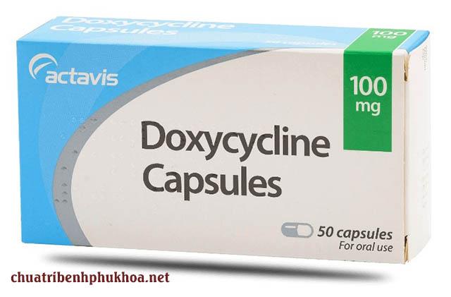 Phác đồ điều trị viêm niệu đạo do lậu bằng thuốc Doxycycline