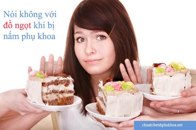Để phòng ngừa nấm phụ khoa không nên ăn nhiều đồ ngọt
