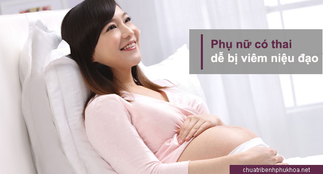 mang thai là nguyên nhân bị viêm niệu đạo