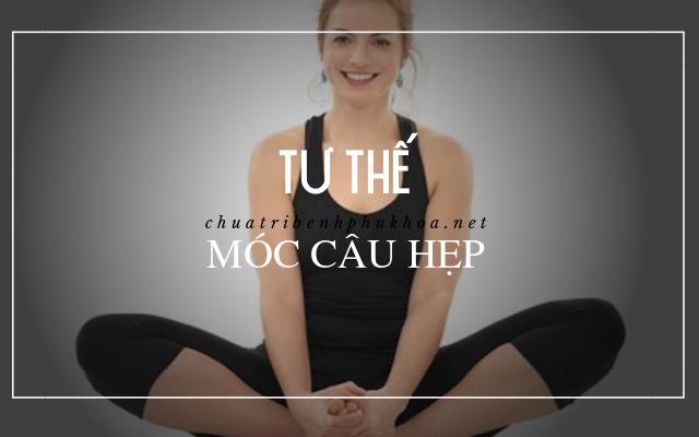 yoga chữa lạc nội mạc tử cung2