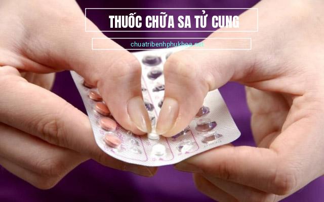 cách chữa sa tử cung bằng thuốc