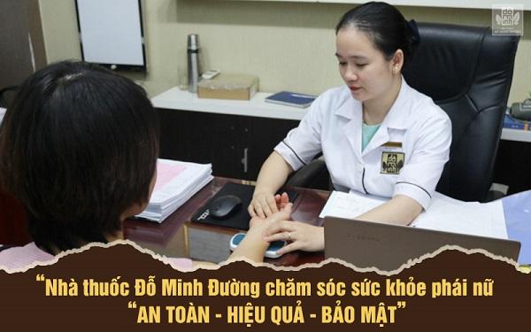 BS Ngô Thị Hằng tận tâm chẩn bệnh, tư vấn cho từng bệnh nhân