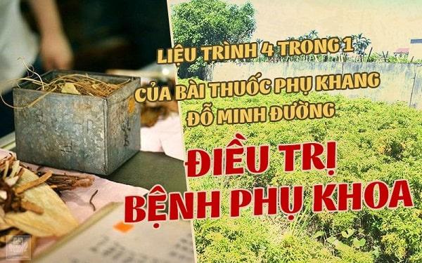 Bài thuốc Phụ Khang Đỗ Minh gia truyền của nhà thuốc dòng họ Đỗ Minh