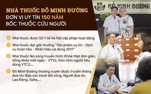 Nhà thuốc nam Đỗ Minh Đường - Địa chỉ VÀNG giúp chị em dứt điểm nỗi lo bệnh phụ khoa