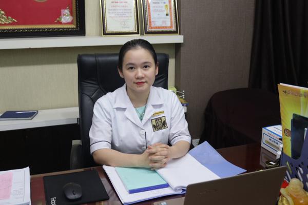 Bác sĩ Hằng - Trưởng khoa Phụ khoa nhà thuốc Đỗ Minh Đường
